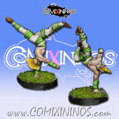 Wood Elves - Set of 2 Cabiri Wardancers - MK1881
