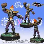 Undead / Dark Elves - Wight or Dark Elf Blitzer RevaBowl IV - Meiko Miniatures