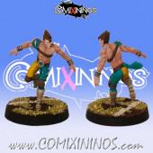 Wood Elves - Lineman nº 2 - SP Miniaturas