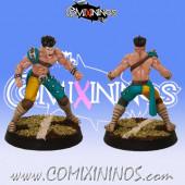 Wood Elves - Lineman nº 6 - SP Miniaturas