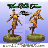 Wood Elves - Set of 2 Wardancers - Fanath Art