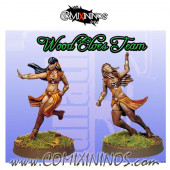 Wood Elves - Elf Catchers Set A of 2 - Fanath Art