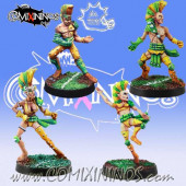 Wood Elves / Elves - Set of 4 Catchers - Meiko Miniatures