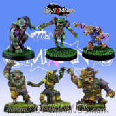Undead / Necromantic - Pack 1 of 6 Racial Zombies - Rolljordan