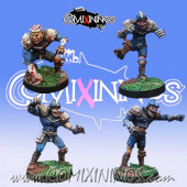 Undead / Necromantic - Set of 4 Classic Zombies - Meiko Miniatures