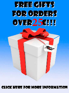 Free Gifts of Orders over 80 EUR