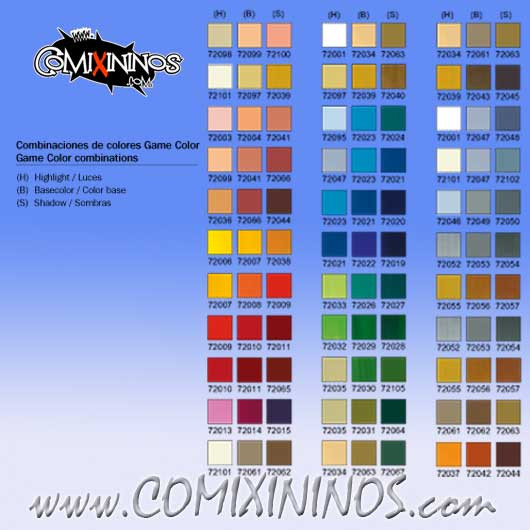 72051 Black Vallejo Game Color Paints Tools Paints