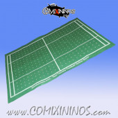 Electric Green Felt Gaming Mat - Comixininos