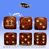 Animosity Skill Dice Red - Euskal