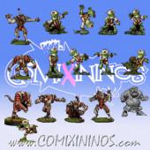 Underworld - Tengu Team of 16 Players with Troll - Rolljordan