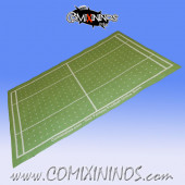 Light Green Felt Gaming Mat - Comixininos