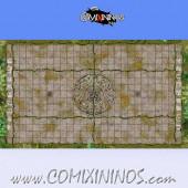 34 mm Lustria Plastic Gaming Mat NO Dugouts - Comixininos