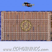 34 mm Pirate Plastic Gaming Mat NO Dugouts - Comixininos