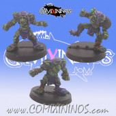 Goblins / Orcs - Set of 3 Not Mutated Goblins - Goblin Guild