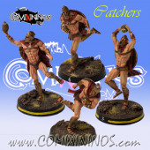 Humans - Set of 4 Spartan Catchers - Meiko Miniatures