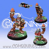 Halflings - Discontinued Capitan Rioja - Willy Miniatures