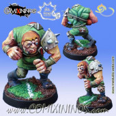 Vampires / Undead - Aigor Thrall Star Player or Apothecary - Meiko Miniatures