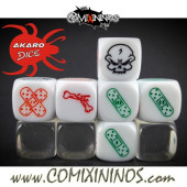 Injury Skill Dice - Akaro