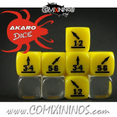 Throw In Skill Dice Yellow - Akaro