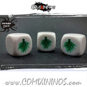 Rooted Skill Dice White - Akaro