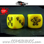 Set of 2d6 Halfling Dice - Akaro