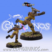 Amazons - Amazon Blitzer nº 4 - SP Miniaturas