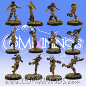 Amazons - Basic Amazon Team of 12 Players - SP Miniaturas