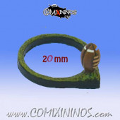 Mini-Football Ring for 20 mm Bases - Meiko