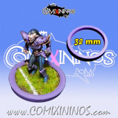 Skill Marker - Purple Rubber Deluxe Ring for 32 mm Bases - Comixininos