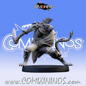 Ratmen - Assassin with Knife Rat Max Star Player - SP Miniaturas