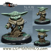 Ogres / Goblins - Baby Yodha Snotling - NAW Miniatures
