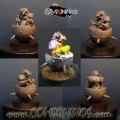 Ratmen / Underworld - Fanatic Ball and Chain Ratmen Star Player - Turncoat Bowl