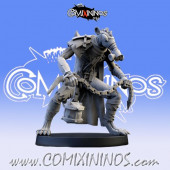Ratmen - Pestilence Ball and Chain Rat Max Star Player - SP Miniaturas