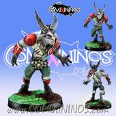 Evil - Resin Beastman nº 4 - Willy Miniatures