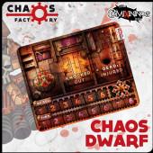 Bench Chaos Dwarf Neoprene Dugout - Chaos Factory