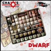 Dwarf Bench Neoprene Dugout - Chaos Factory