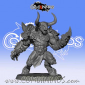 Big Guys - Black Horns Minotaur nº 5 Star Player - Willy Miniatures