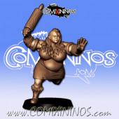 Ogres - 3D Printed Stampede Female Ogre n º 1 - RN Estudio