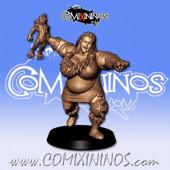 Ogres - 3D Printed Stampede Female Ogre n º 3 - RN Estudio