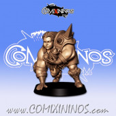 Ogres - 3D Printed Stampede Female Ogre n º 4 - RN Estudio