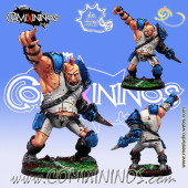 Big Guys - Ogre nº 1 Star Player Mork ' N ' Thork - Meiko Miniatures