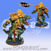 Lizardmen - Metal Big Lizard of Lizardmen Team - Fanath Art