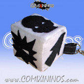 Peluche Block Dice Key Ring RN Estudio - Black