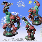 Orcs - Black Orc nº 3 - Meiko Miniatures