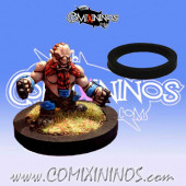 Skill Marker - Black Rubber Deluxe Ring for 25 mm Bases - Comixininos