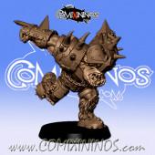 Orcs - 3D Printed Black Orc nº 4 / 15 - RN Estudio
