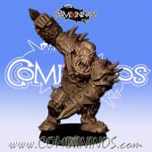 Orcs - 3D Printed Black Orc nº 3 / 14 - RN Estudio