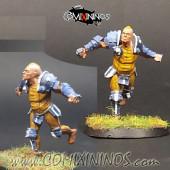 Humans - Fat Bastards Blitzer nº 1 - Meiko Miniatures
