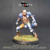 Humans - Fat Bastards Blitzer nº 3 - Meiko Miniatures