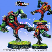 Orcs - Resin Orc Blitzer nº 4 - Necrom Studio